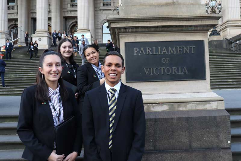 KGI young leaders pass their Bill in Youth Parliament