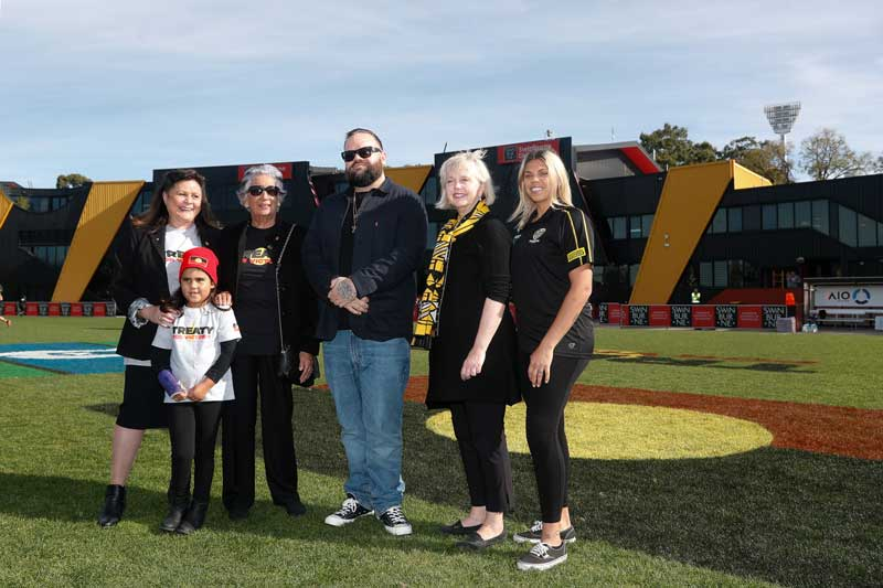 Dreamtime marks first major support for Treaty from AFL Clubs